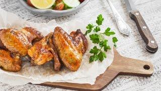 Куриные крылышки в имбирно медовом соусе