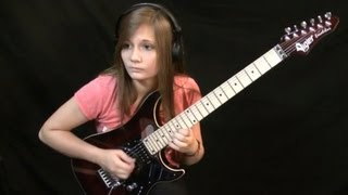 14-jährige Gitarristin rockt das Netz