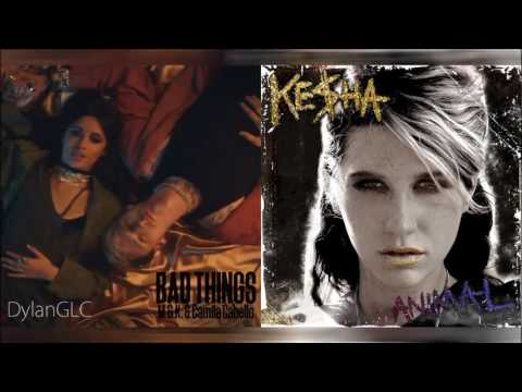 Bad Animal | Machine Gun Kelly feat. Camila Cabello & Kesha Mashup!