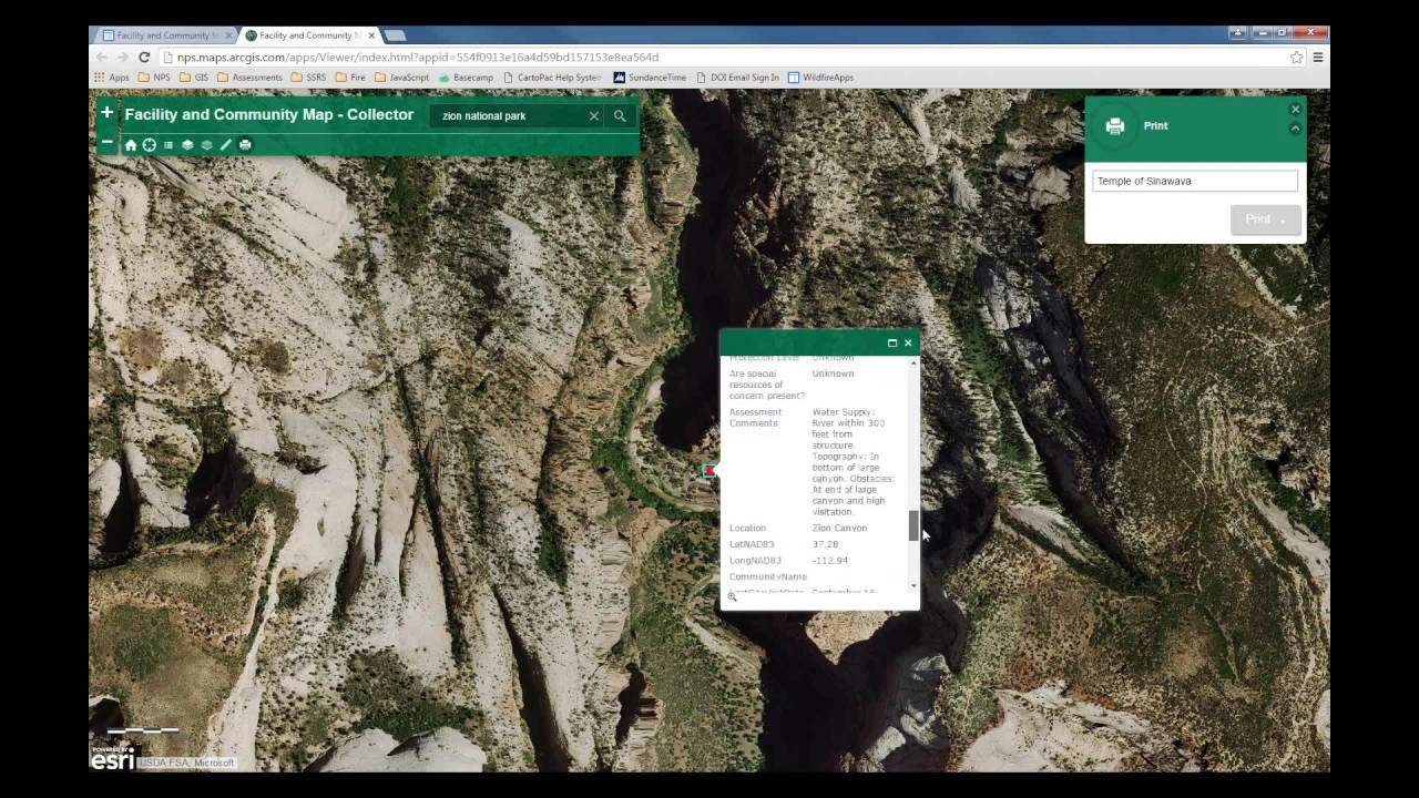 Introduction To The Nps Wildfire Apps Website Youtube