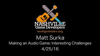 Making an Audio Game