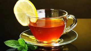 Картинка напиток. Чай, чашка, лимон. 🍋