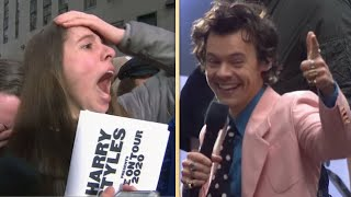 Watch Harry Styles' Superfan FLIP OUT After He Gives Her VIP Tickets