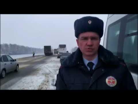 Автокатастрофа с участием двух автобусов в Тамбовской области 7