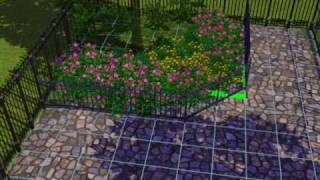 sims 3  how to make the best garden tutorial