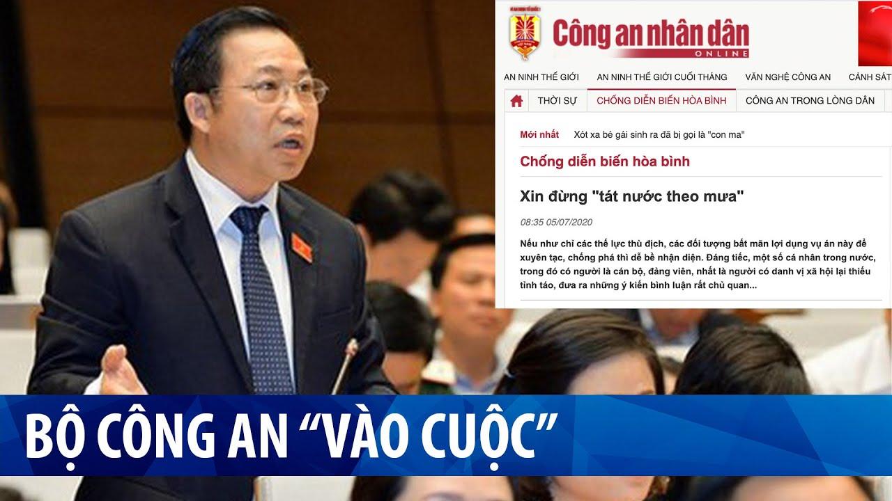 """Vụ oan án Hồ Duy Hải: công an """"vào cuộc"""" đe doạ các đại biểu quốc hội"""