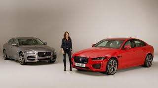 New Jaguar XE | Unwrapped with Ginny Buckley