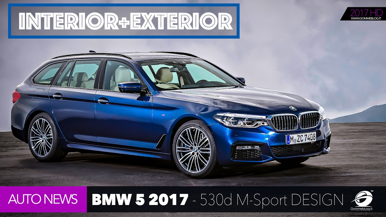 bmw 5 series touring 2017 bmw 530d m sport xdrive g31 car exterior interior design youtube. Black Bedroom Furniture Sets. Home Design Ideas