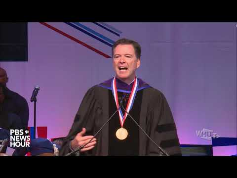 WATCH: Former FBI Director James Comey delivers Convocation