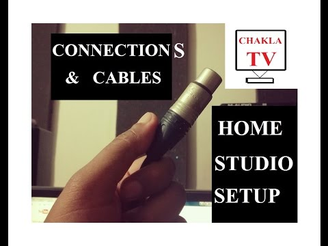 Home Recording Studio - CONNECTIONS & CABLES ( In Bengali / Bangla ) - Tips - Tutorial - Suggestions
