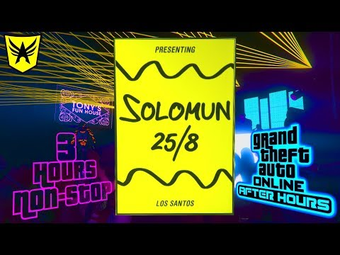 Solomun Live DJ Set (3 Hours Music Non-Stop, with Index) - GTA Online AFTER HOURS