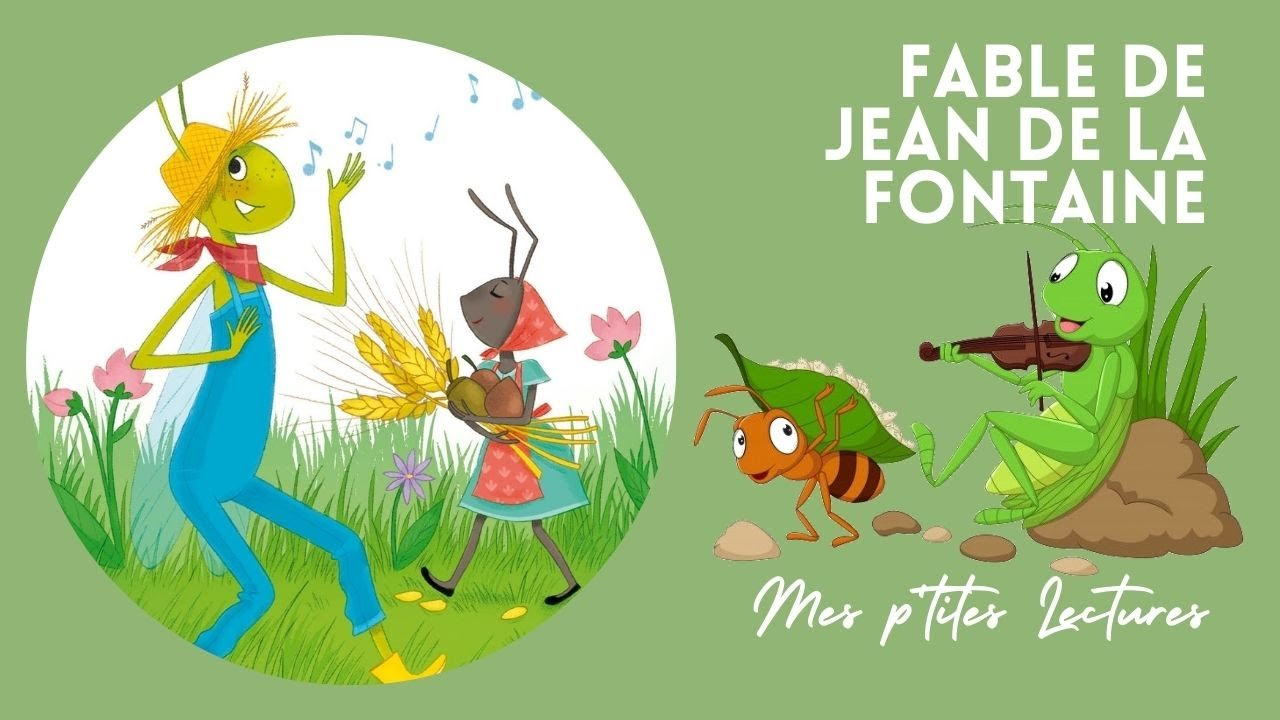 🐜 La cigale et la fourmi - Fable de Jean de la Fontaine - YouTube