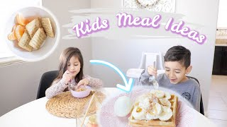 What My Kids Eat In A Day! Kid Meal Ideas 2019