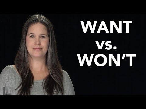 WANT vs. WON'T Pronunciation - American English