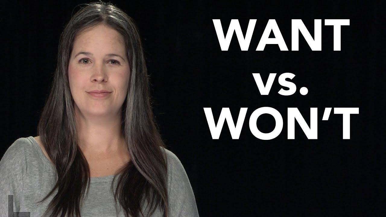 Download WANT vs. WON'T Pronunciation - American English
