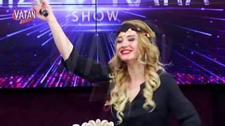 Gizem Kara Şahap Akagün ile Var mısın Halaya Vatan Tv ile Coşmaya
