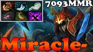 dota 2 miracle 7093 mmr plays epic nyx carry vol 1 pub match gameplay