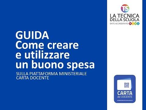 Card Docente 500 Euro Annullare Buono Spesa Già Generato