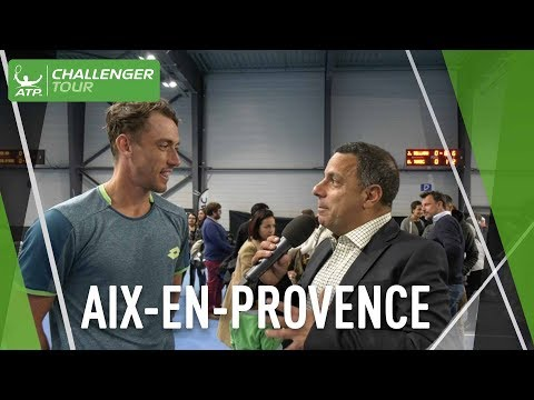 Millman Reacts To Aix-en-Provence Challenger Title