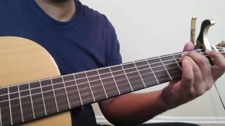 Tujh Mein Rab Dikhta hai| Rab Ne Bana Di Jodi| Guitar Lesson| Intro+ Chords