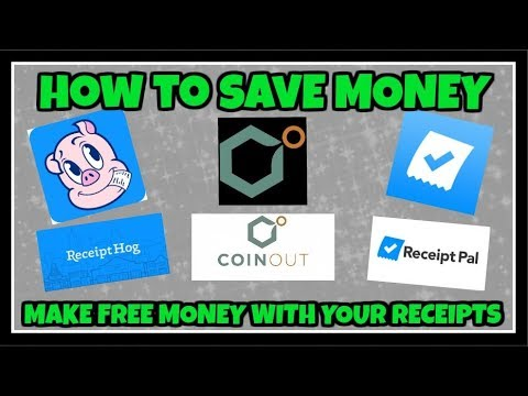 How To Use Receipt Pal, Receipt Hog And Coinout