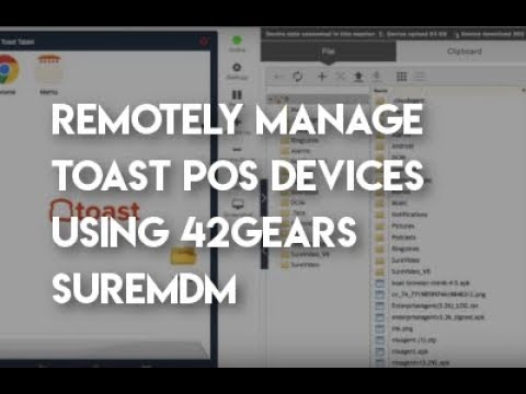 Toast SureMDM Overview - YouTube