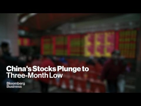 Turmoil In Chinese Markets As Stocks Plummet