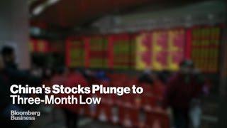 Turmoil in Chinese Markets as Stocks Plummet