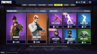Fortnite Item Shop [September 14th] ROGUE AGENT!? SERIOUSLY? STARTER PACK SKIN?
