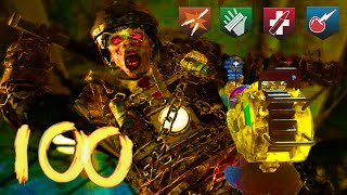 MOB OF THE DEAD HIGH ROUND ATTEMPT - BLACK OPS 2 ZOMBIES HIGH ROUND STRATEGY & GAMEPLAY!