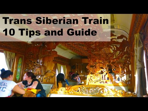 10 tips for Trans Siberian Train/Railway, a short guide to help you