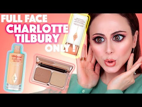 HOLY MOLY 😱| FULL FACE MAKEUP USING ONLY CHARLOTTE TILBURY | Hatice Schmidt