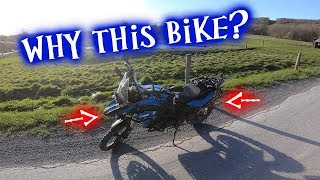 Why I Bought The BMW F800GS