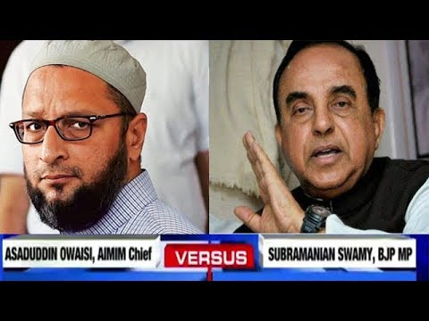 Subramanian Swamy VS Asaduddin Owaisi On The Hindu Terror Theory I Times NOW Exclusive
