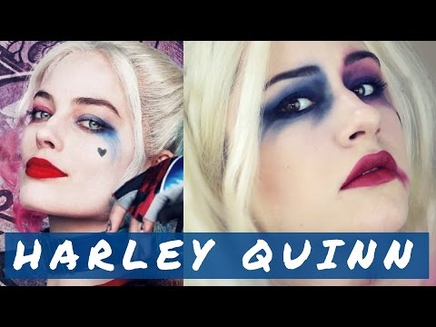 HARLEY QUINN , Tutoriel maquillage Halloween 2016 (En Français!)