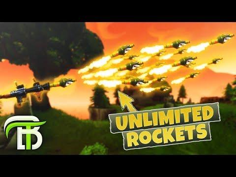RAINING ROCKETS Fortnite Battle Royale