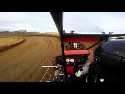 Southern Illinois Raceway | Outlaw Non-Wing Heat Race May 23rd, 2015 | Collin Wece