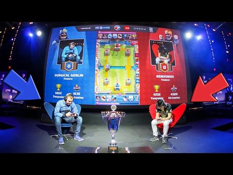 Clash Royale - La FINALE de la COUPE DU MONDE à PARIS !!