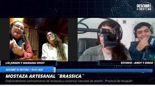 """Lía Jensen y Mariana Vivot - Emprendimiento """"Brassica"""" - San Martín de los Andes - Prov. Neuquén"""