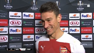 """Now I start a new chapter!"" A delighted Laurent Koscielny reflects on his journey back from injury"