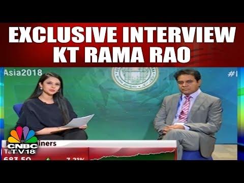 Telangana Fin Minister KT Rama Rao Talks About Bio Asia & Hyderabad  | YOUR STOCKS | CNBC TV18