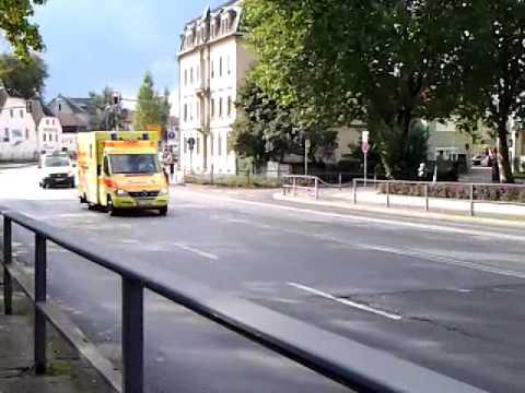 RTW JUH KatS Dresden + NEF DRK...