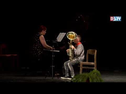 Rendhagyó koncert a Devecseri Zeneiskolában, Fejér András művész úr közreműködésével
