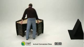 Legare Corner Desk Reverses With Ease From Simonhelene.com