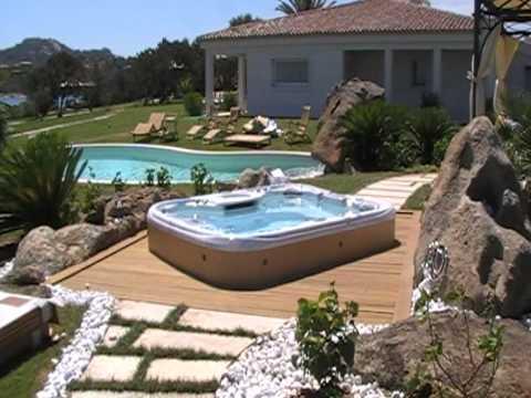 Minipiscina luxury trading s r l idromassaggio da for Piscina per terrazzo
