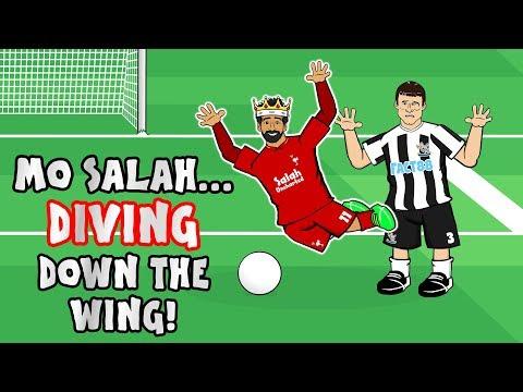 ☢️MO SALAH - DIVING DOWN THE WING!☢️ (Song Parody Running)