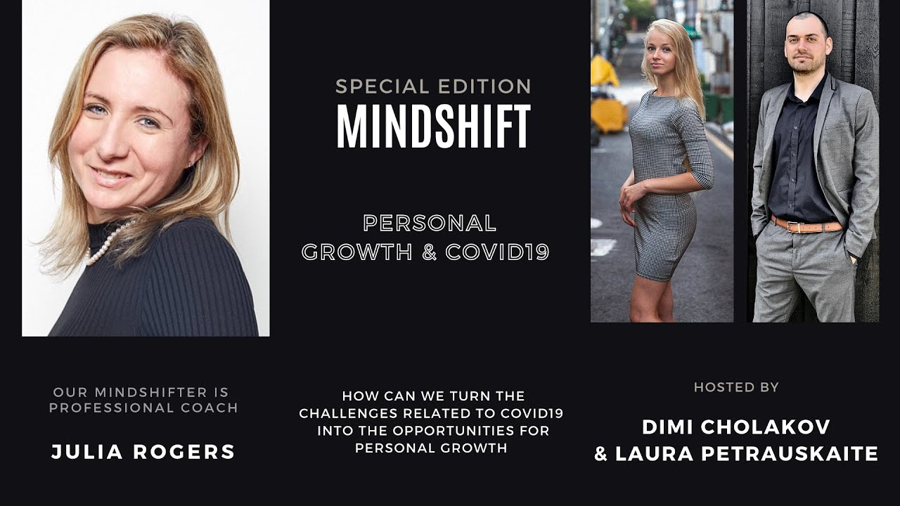 PERSONAL GROWTH & COVID-19 with Julia Rogers