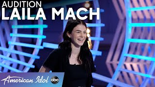 "Gabby Barrett, But Angrier! Laila Mach Auditions With Her Version Of ""I Hope"" - American Idol 2021"