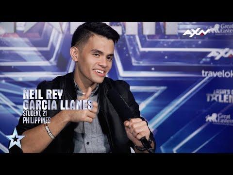 Neil Rey Garcia Llanes Drops a Beat | Asia's Got Talent 2017