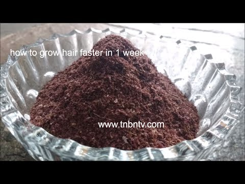 how to make hibiscus powder | how to grow hair faster in 1 week, indian hair growth secrets